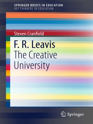 cover image of F. R. Leavis