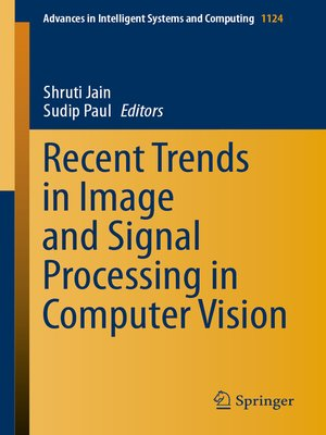 cover image of Recent Trends in Image and Signal Processing in Computer Vision