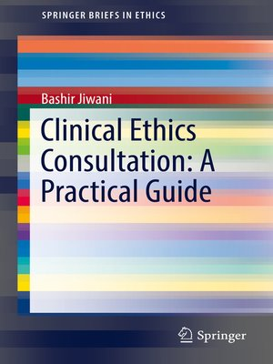 cover image of Clinical Ethics Consultation