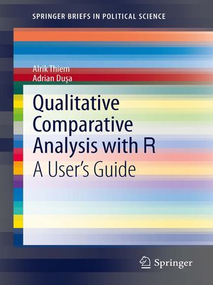 cover image of Qualitative Comparative Analysis with R