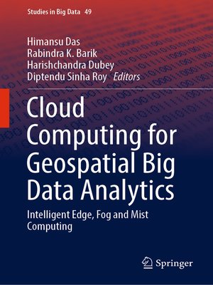 cover image of Cloud Computing for Geospatial Big Data Analytics