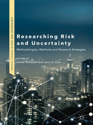 cover image of Researching Risk and Uncertainty