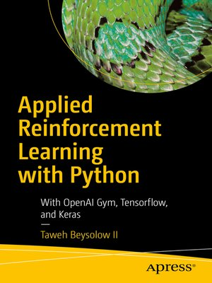 cover image of Applied Reinforcement Learning with Python