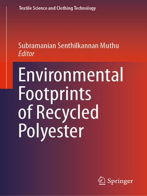 cover image of Environmental Footprints of Recycled Polyester