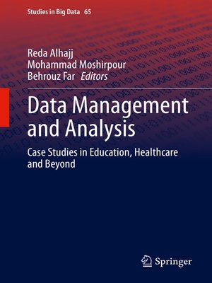 cover image of Data Management and Analysis
