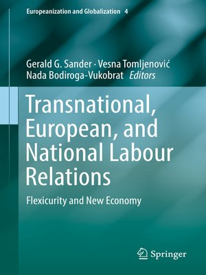 cover image of Transnational, European, and National Labour Relations