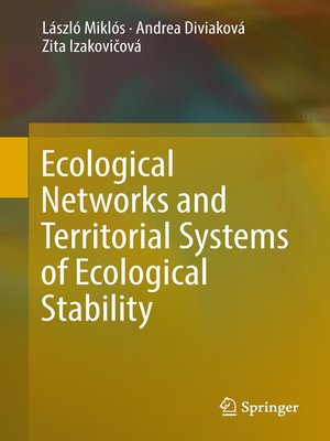 cover image of Ecological Networks and Territorial Systems of Ecological Stability