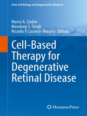 cover image of Cell-Based Therapy for Degenerative Retinal Disease