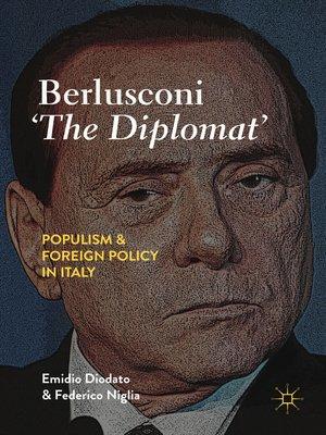 cover image of Berlusconi 'The Diplomat'