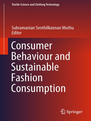 cover image of Consumer Behaviour and Sustainable Fashion Consumption