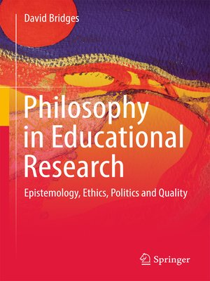 cover image of Philosophy in Educational Research
