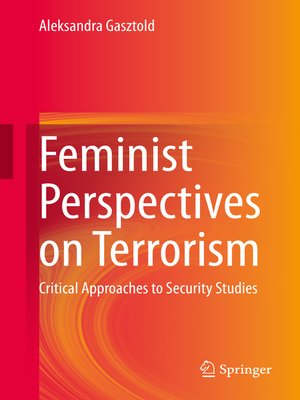 cover image of Feminist Perspectives on Terrorism