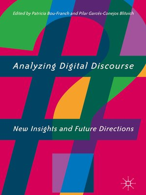 cover image of Analyzing Digital Discourse