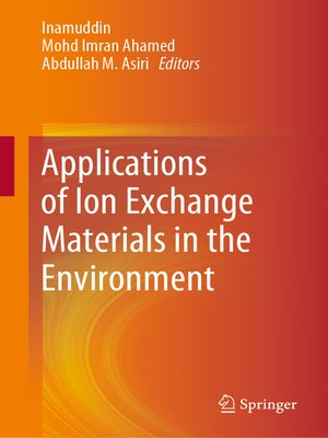 cover image of Applications of Ion Exchange Materials in the Environment