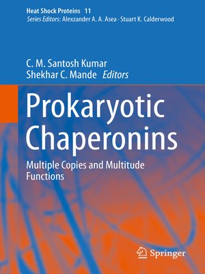 cover image of Prokaryotic Chaperonins