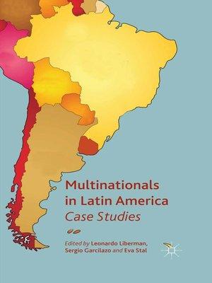 cover image of Multinationals in Latin America