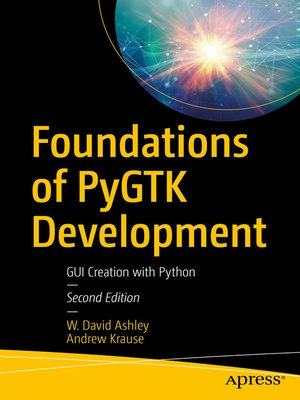 cover image of Foundations of PyGTK Development