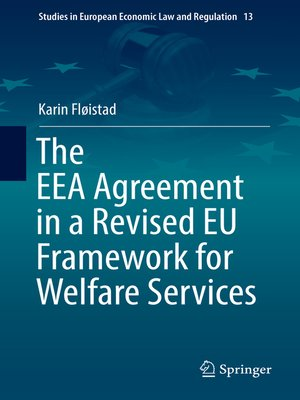 cover image of The EEA Agreement in a Revised EU Framework for Welfare Services