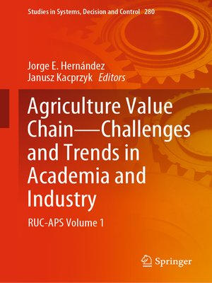 cover image of Agriculture Value Chain--Challenges and Trends in Academia and Industry