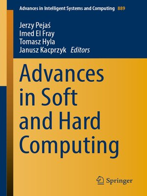 cover image of Advances in Soft and Hard Computing