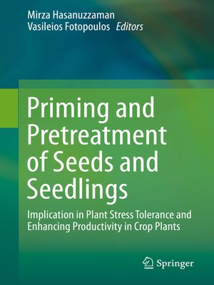 cover image of Priming and Pretreatment of Seeds and Seedlings