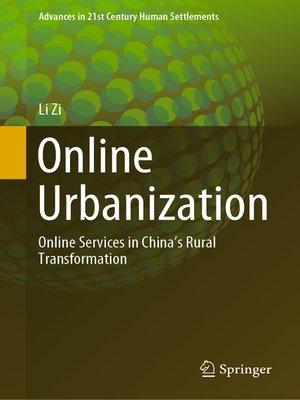 cover image of Online Urbanization