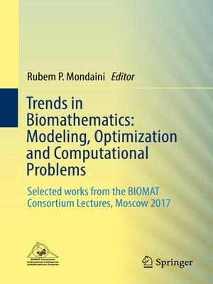 cover image of Trends in Biomathematics