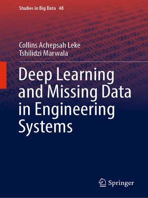 cover image of Deep Learning and Missing Data in Engineering Systems
