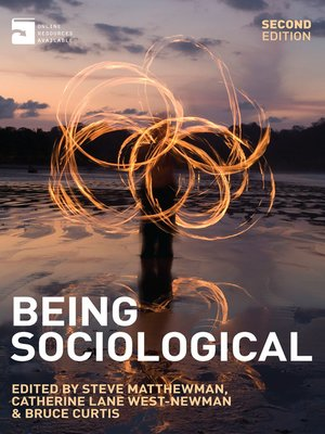 cover image of Being Sociological