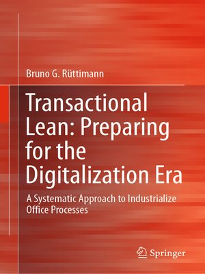 cover image of Transactional Lean