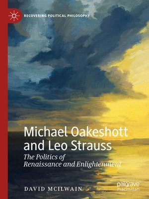 cover image of Michael Oakeshott and Leo Strauss