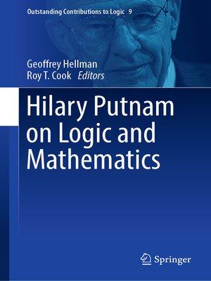 cover image of Hilary Putnam on Logic and Mathematics