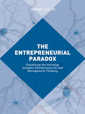 cover image of The Entrepreneurial Paradox