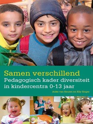cover image of Samen verschillend