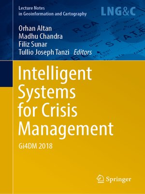 cover image of Intelligent Systems for Crisis Management