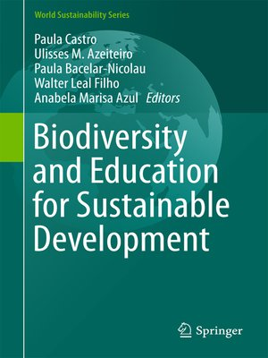 cover image of Biodiversity and Education for Sustainable Development