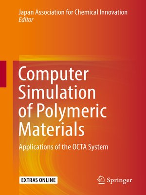 cover image of Computer Simulation of Polymeric Materials