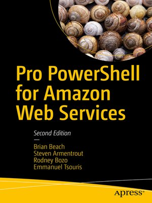 cover image of Pro PowerShell for Amazon Web Services