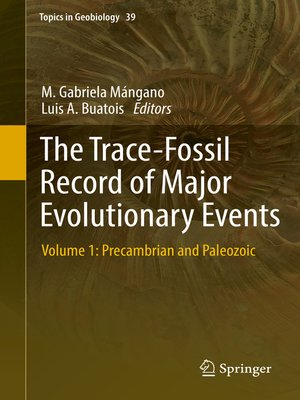 cover image of The Trace-Fossil Record of Major Evolutionary Events