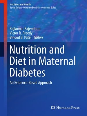 cover image of Nutrition and Diet in Maternal Diabetes