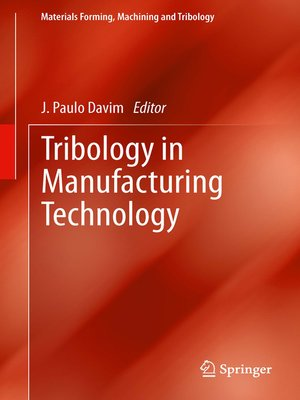cover image of Tribology in Manufacturing Technology