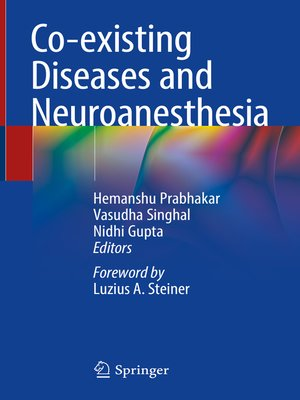 cover image of Co-existing Diseases and Neuroanesthesia
