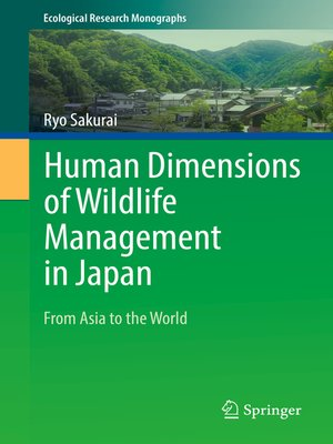 cover image of Human Dimensions of Wildlife Management in Japan
