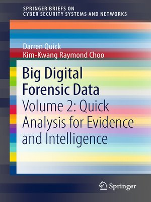 cover image of Big Digital Forensic Data