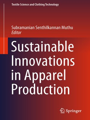 cover image of Sustainable Innovations in Apparel Production