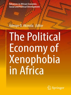 cover image of The Political Economy of Xenophobia in Africa