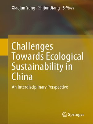 cover image of Challenges Towards Ecological Sustainability in China