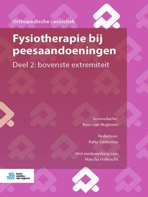 cover image of Fysiotherapie bij peesaandoeningen