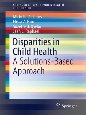 cover image of Disparities in Child Health