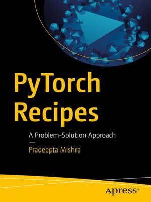 cover image of PyTorch Recipes